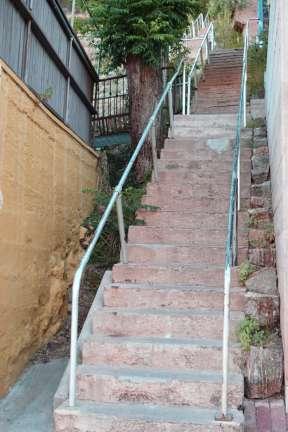 Bisbee stairs
