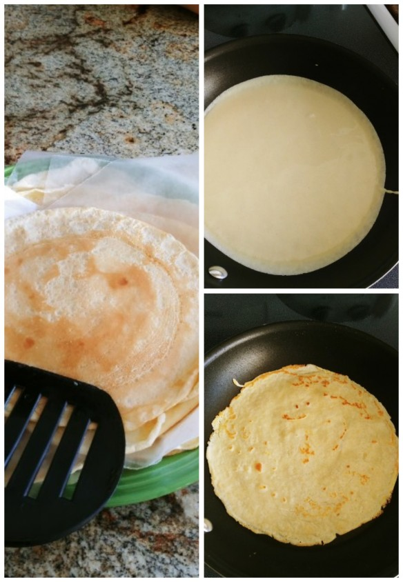 Cooked Crepes